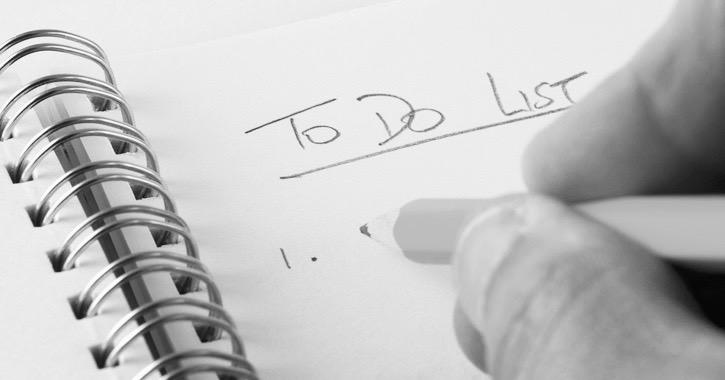 list time management